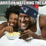 Harrison watching the Steelers Lose