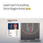 Isaiah Thomas Shot Chart