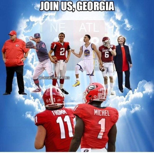 of Alabama in Memes Best Choking 14 Against the  Georgia