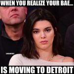 Kendall Jenner is pissed
