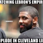 Kyrie is Happy