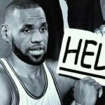LeBron asking for help