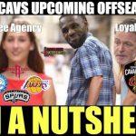 LeBron's Offseason