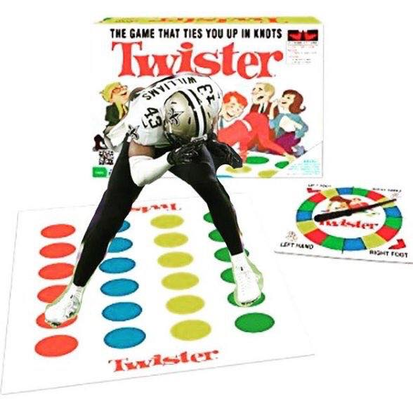 Marcus Williams Twister