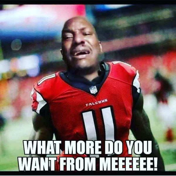 Poor Julio Jones