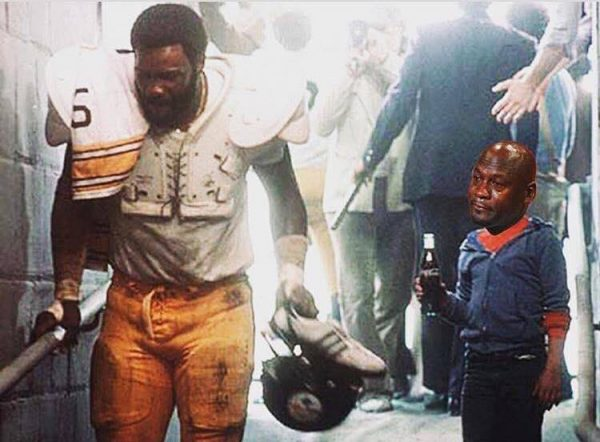 Steelers Crying Jordan