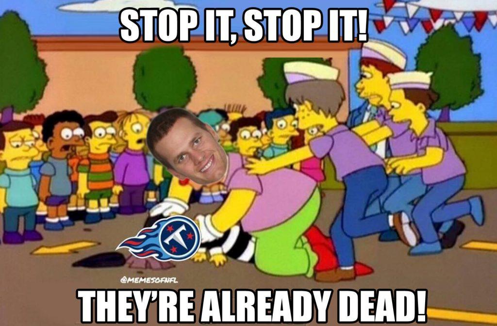 Stop it Tom Brady