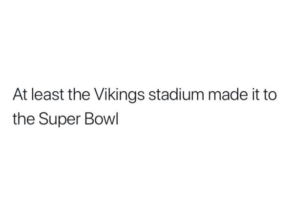 The Vikings Made it to the Super Bowl