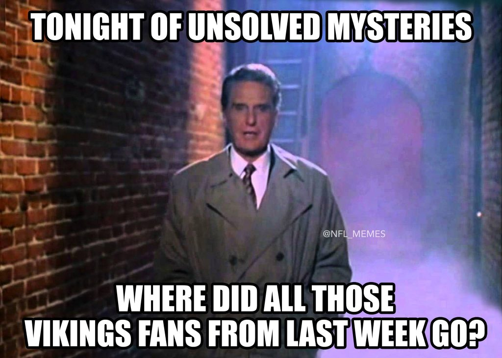 Vikings Fans Disappeared