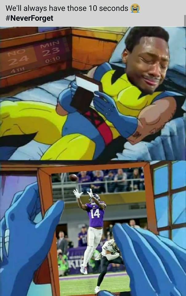 Vikings Fans Miss Marcus Williams