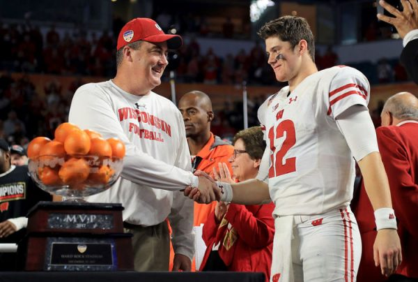 Wisconsin Win Orange Bowl