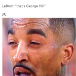 JR can't tell Isaiah from George Hill