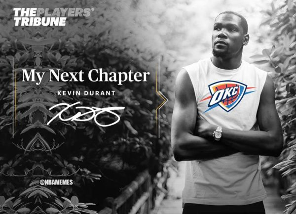 Kevin Durant Next Chapter Thunder