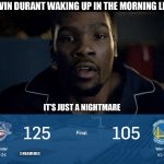 Kevin Durant Nightmare