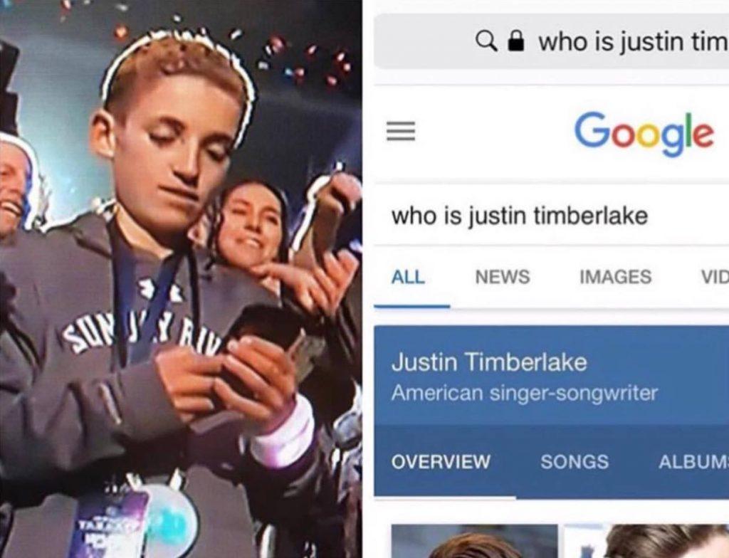 Kid Justin Timberlake Halftime Show