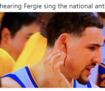 Klay bleeding from his ears