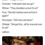 LeBron Trading Everybody