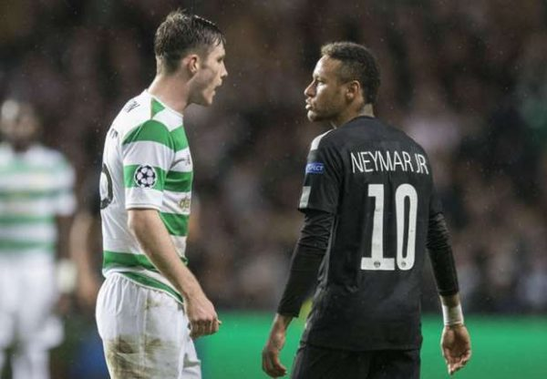 Neymar vs Celtic