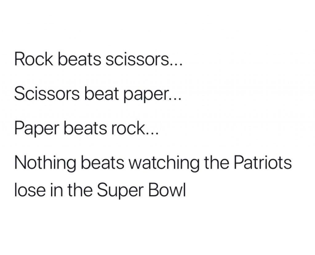 Patriots Lose