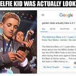 Selfie Kid Warriors