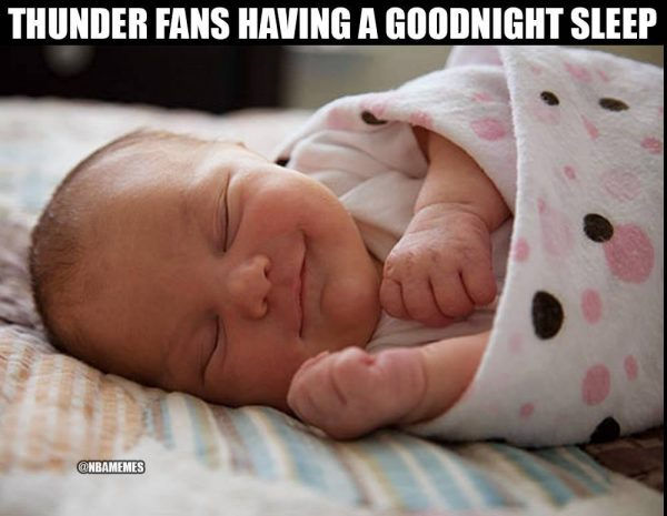 Thunder Fans Sleeping