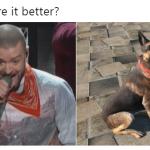 Who wore it better bandana