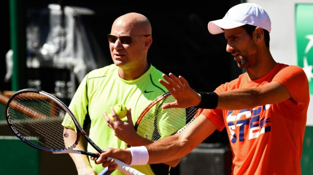 Andre Agassi, Novak Djokovic