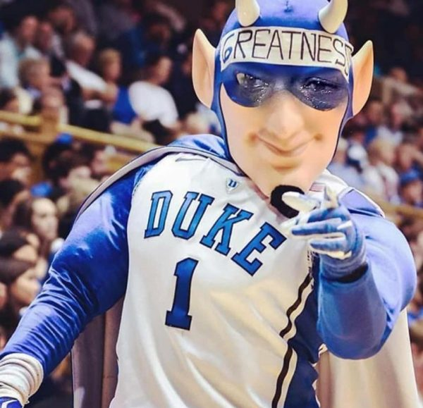 Blue Devil Crying Jordan