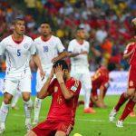 Chile beats Spain 2014