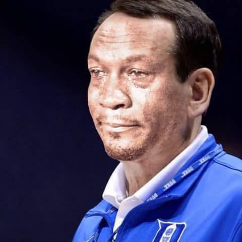 Coach K Crying Jordan