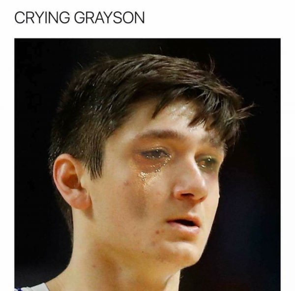 Crying Grayson