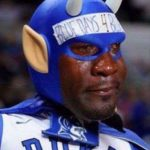 Crying Jordan Duke Fan