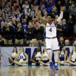 Devonte Graham, Kansas Beats Duke