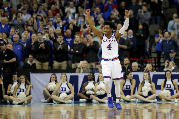 Devonte Graham, Kansas Beats Duke