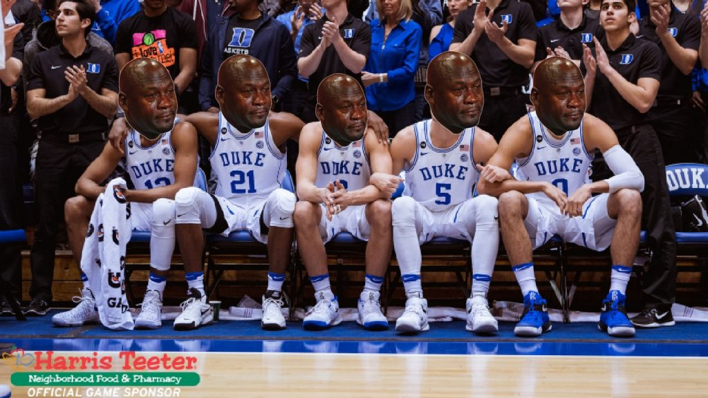 Duke Crying Jordans