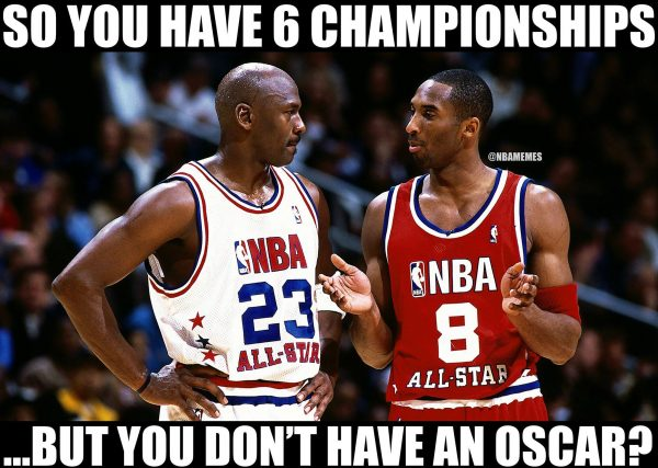1 Oscar for Kobe