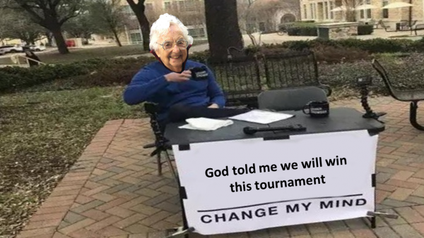 Sister Jean Change my mind