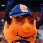 Syracuse Mascot Crying Jordan