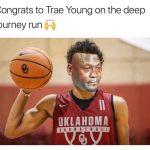 Trae Young Crying Jordan
