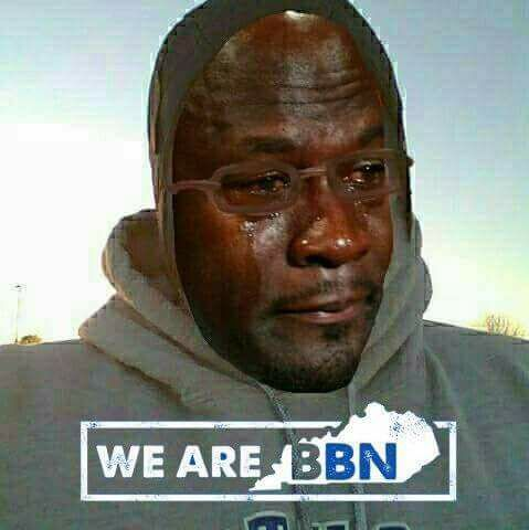 We are BBN Crying Jordan