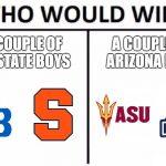 upstate vs arizona