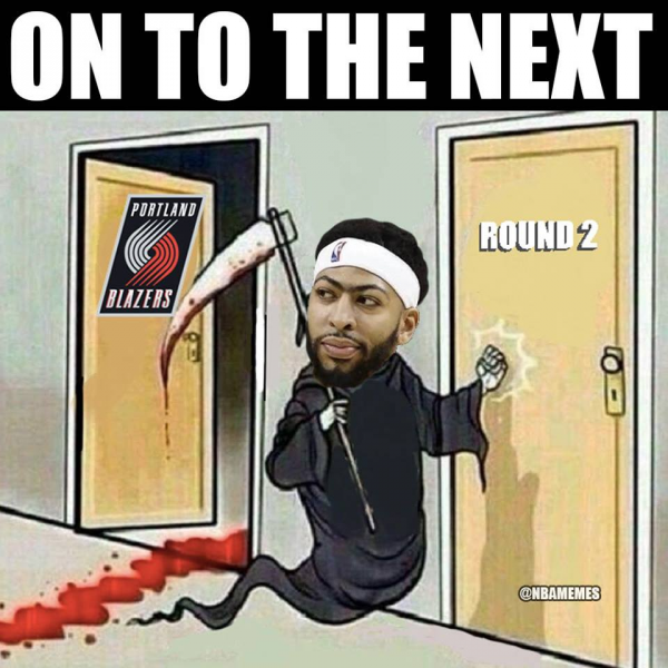 Anthony Davis Grim Reaper