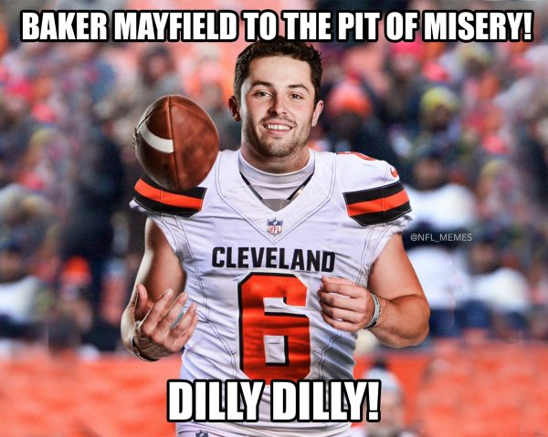 Baker Mayfield Dilly Dilly