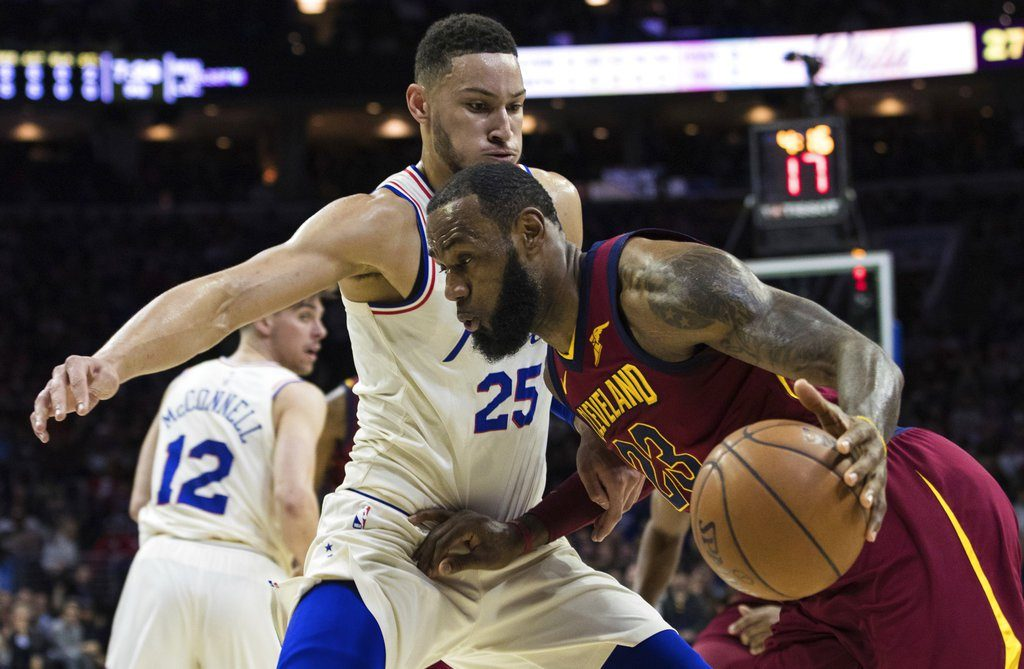 Ben Simmons Guarding LeBron James