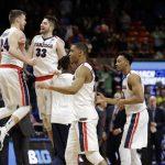 Gonzaga 2018 NCAA Tournament