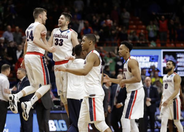 Gonzaga 2018 NCAA Tournament