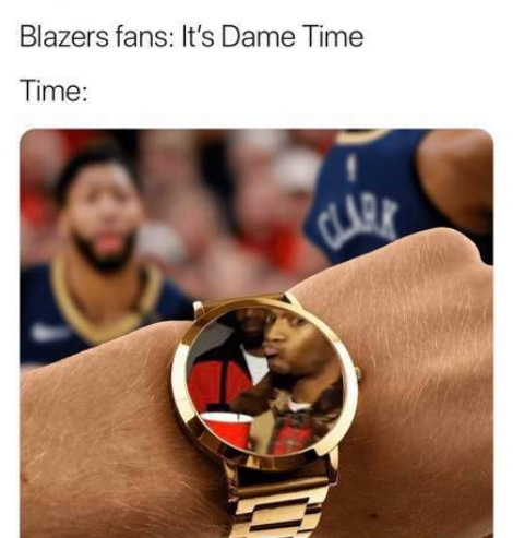 It's Dame Time