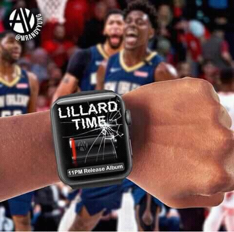 Lillard Time Broken