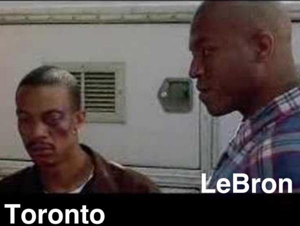 Beaten up Toronto