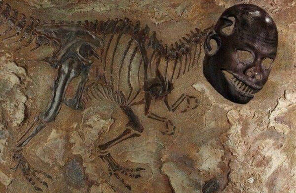 Dinosaur Fossil Crying Jordan